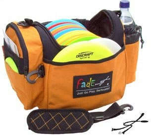 Fade Gear Crunch Box Disc Golf Bag - Pumpkin by Fade Gear
