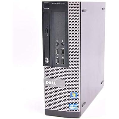 Dell OptiPlex 7010 SFF 3rd Gen Quad Core i5-3470 8GB 480GB SSD DVDRW Windows Professional 64-Bit Desktop Computer  Renewed