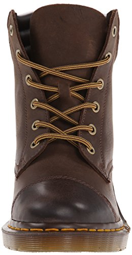 Dr. Martens ALEXANDRA Wyoming DK BROWN - Náuticos para mujer Brown