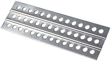 DEtrade Metall Anti-Rutsch-Sandleiter Recover Board für 1/10 RC Crawler TRX-4 SCX10 Car Assemblage und Dekoration