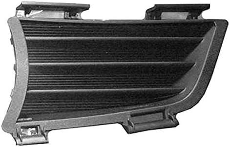 Fits 2005-2008 Pontiac Vibe Black Lower Bumper Billet Grille Inserts