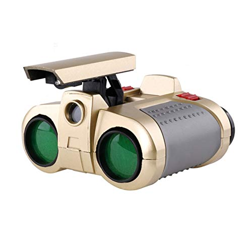 4 x 30mm Night Vision Telescope Dual Scope Surveillance Binoculars Pop-up Light sumfiby
