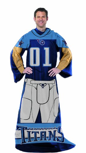 The Northwest Company Officially Licensed NFL Full Body Player Adult Comfy Throw Blanket, 48