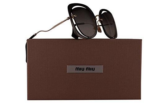 Miu Miu MU54SS Sunglasses Black w/Grey Gradient 64mm Lens 1AB0A7 SMU 54S SMU54S MU - Miu Sunglasses Miu 2018