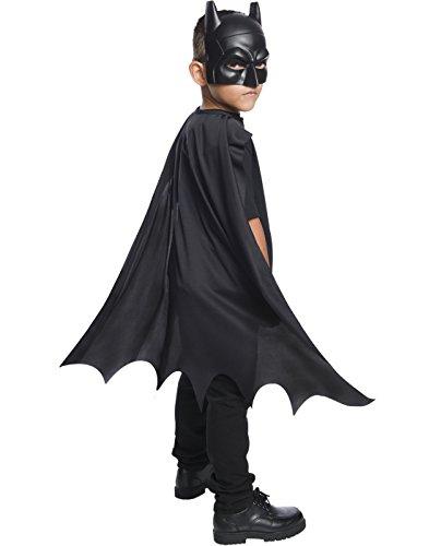 (Rubie's Costume Boys DC Comics Batman Cape & Mask Set Costume, One)