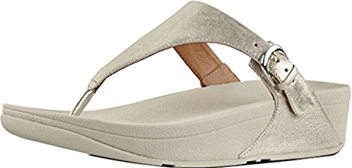 f9353c5fa FitFlop Women s Skinny Toe Thong Sandals - Leather   Sunscreen Spray  Bundle. Tap to expand