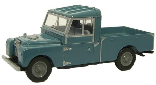 Land Rover Series I 109 - Blue - 1/76th Scale Oxford Diecast LAN1109002