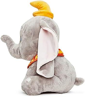 Disney 37278 Dumbo Color Gris Peluche de Elefante 46 cm