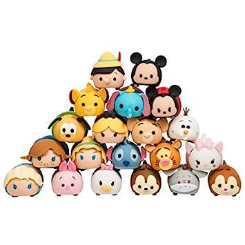 Gomas de borrar coleccionables Tsum Tsum, apilables, puzle 3D, paquete de 20 unidades