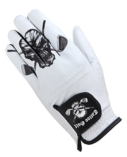 Tattoo Golf Men's Golf Glove - White - XL