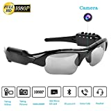 Bluetooth Sunglasses Camera,Full HD 1080P with 65 Degree Angle Mini Camera for Outdoor