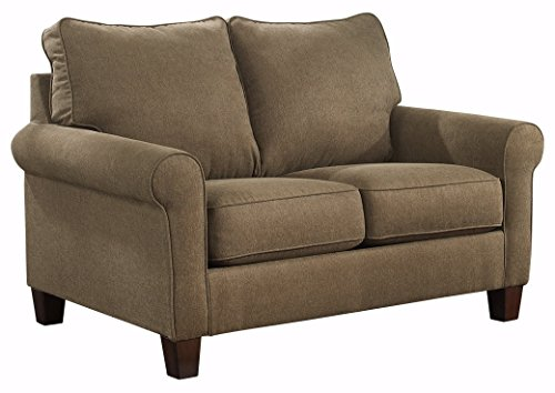 Ashley Furniture Signature Design – Zeth Sleeper Sofa – Twin Size – Easy Lift Mechanism – Contemporary Living – Basil