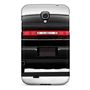 Durable Defender Case For Galaxy S4 Tpu Cover(dodge Challenger)
