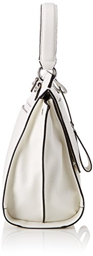 Guess Damen Bags Hobo Shopper, 16x28x45 centimeters Weiß (White)