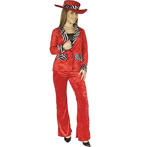 Charades Ladies Pimp Hat Color: -