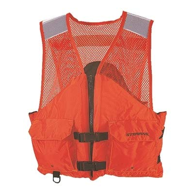(Stearns I424ORG Industrial Work Zone Life Vest)
