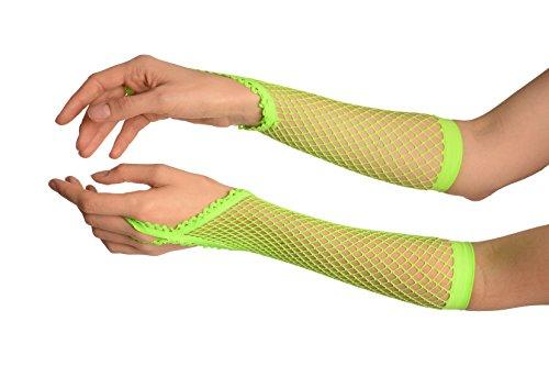 Neon Green Finger Loop...