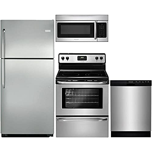 Appliance Packages Stainless Steel 4 Piece: Amazon.com