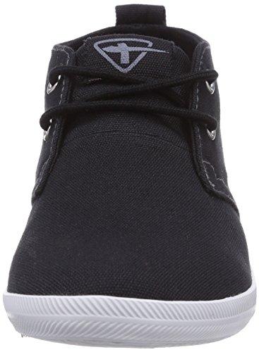 Tamaris 25210 - zapatos con cordones de lona mujer negro - negro