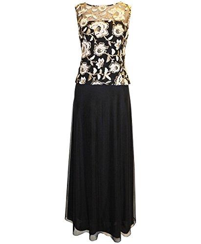 Plus Size Alex Evenings 417123 Dress --Size: 22 Color: Black