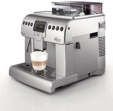 Saeco HD8930/01 - Cafetera de espresso Royal, color plateado [Importado de Alemania]: Amazon.es: Hogar