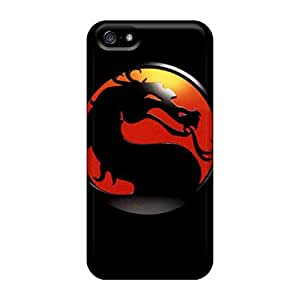 Tpu Fashionable Design Mortal Combat Rugged Case Cover For Iphone 5/5s New