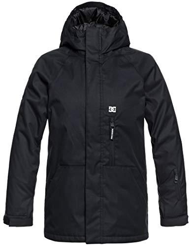 DC Boys' Big Ripley Youth Snow Jacket, Black 16/XXL
