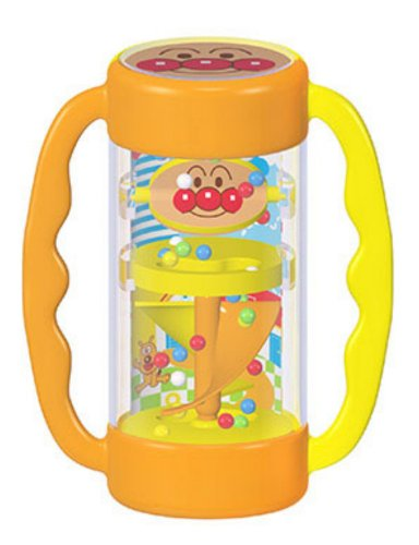Rattle and suddenly sound of vinyl lab Anpanman heavy rainfall all BabyLabo (japan import)