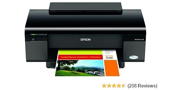Amazon Com Epson Workforce 30 Color Inkjet Printer C11ca19201 Electronics