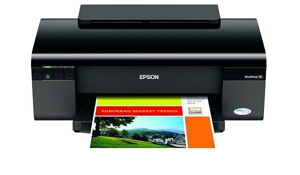 Epson WorkForce 30 Inkjet Printer - Color Inkjet - 38 ppm ...