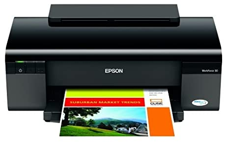 Epson WorkForce 30 Inkjet Printer - Color Inkjet - 38 ppm ...