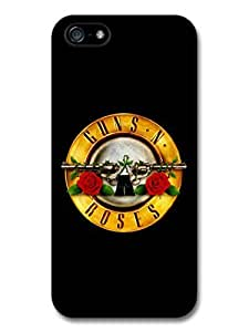 AMAF ? Accessories Guns and Roses Yellow Logo case for iPhone 5 5S