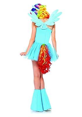 Leg Avenue Women's My Little Pony Friendship Is Magic 6 Piece Rainbow Dash