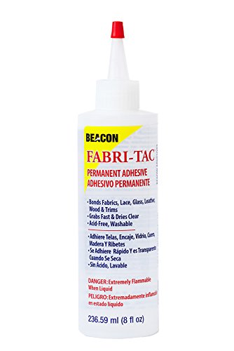 Beacon Adhesives Fabri-Tac Permanent Adhesive, 8-Ounce
