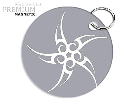 Llavero magnético JCM impresionante diseño Tribal Star ...
