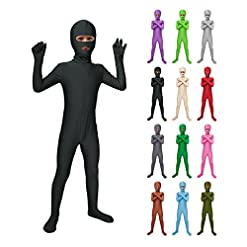 - 41ckpNQpFpL - Sheface Kids Spandex Mouth and Eyes Open Bodysuit Fancy Dress Costume
