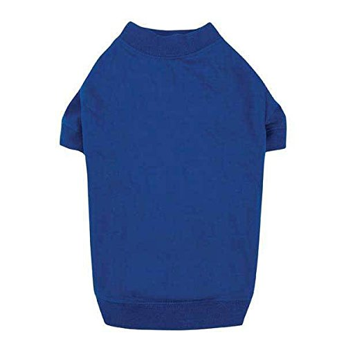 T-SHIRTS for Dogs Brightly Colored Dog Tshirt with Warm Elastic Neck Sleeves (Medium Nautical ()