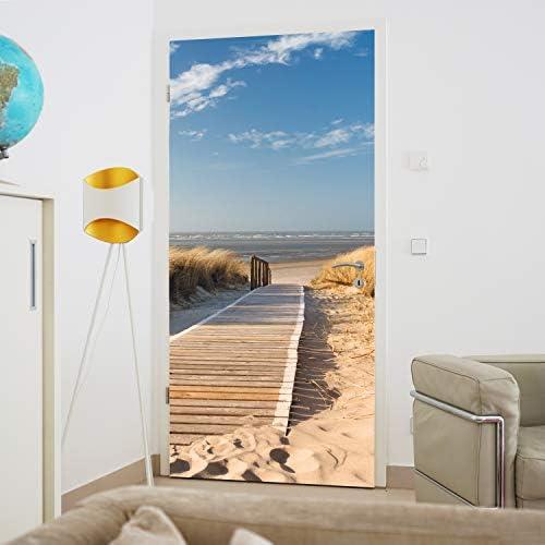 Praslin Papel Pintado Foto Mural Pared Sandy Playa Ocean Palmas 368x254cm Enorme