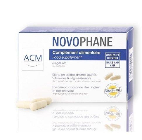 ACM Laboratoire Novophane Caps Anti Hair Loss Alopecia Treatment Nails Fragility Free Shipping FORSKIN