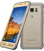 Samsung Galaxy S7 active SM-G891A 32GB AT&T Locked - Sandy Gold (Certified Refurbished)