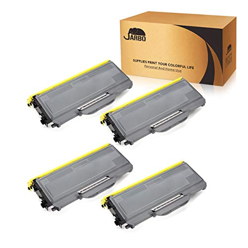 JARBO Compatible for Brother TN360 TN-360 TN330 TN-330 Toner Cartridges, 4 Black, use with Brother HL-2170W HL-2140 DCP-7040 DCP-7030 MFC-7840W MFC-7340 MFC-7345N -