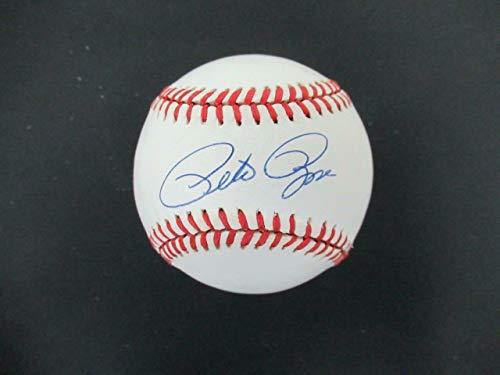 Pete Rose Signed Baseball Autograph Auto AF15385 - PSA/DNA Certified - Autographed Baseballs ()