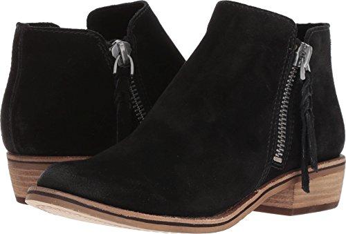 Dolce Vita Women's Sutton Ankle Boot, Black Suede, 9 M US