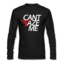 Men's MLG Team Faze Clan Can't Faze Me T-shirts Black