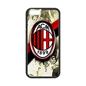 iphone6 plus 5.5 inch cell phone cases Black AC Milan fashion phone cases TRD4546722