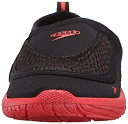 Speedo Surfwalker Pro 2.0 Water Shoes (Toddler), Black/Pink, 8/9  US Toddler