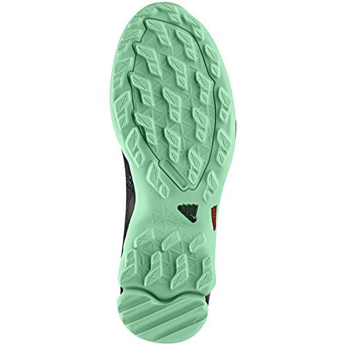 Adidas Outdoor Vrouwen Ax2 Wandelschoen Vista Grijs, Zwart, Groene Gloed