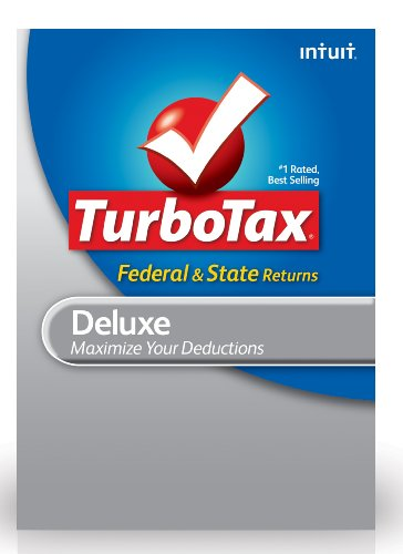 TurboTax Deluxe Federal + E-File + State 2012 for Mac [Old Version]