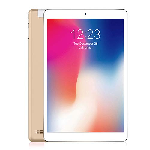 Android Tablet 10 inch with SIM Card Slot Unlocked,2 GB RAM, 32 GB Storage,IPS Screen 3G Phablet with WiFi GPS Bluetooth Tablets (Gold)