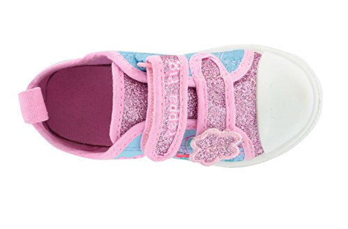 Peppa Pig Cagire Pink and White Trainers Various Sizes